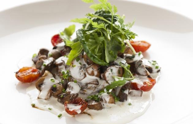 bistro 1682, breakfast, mushrooms