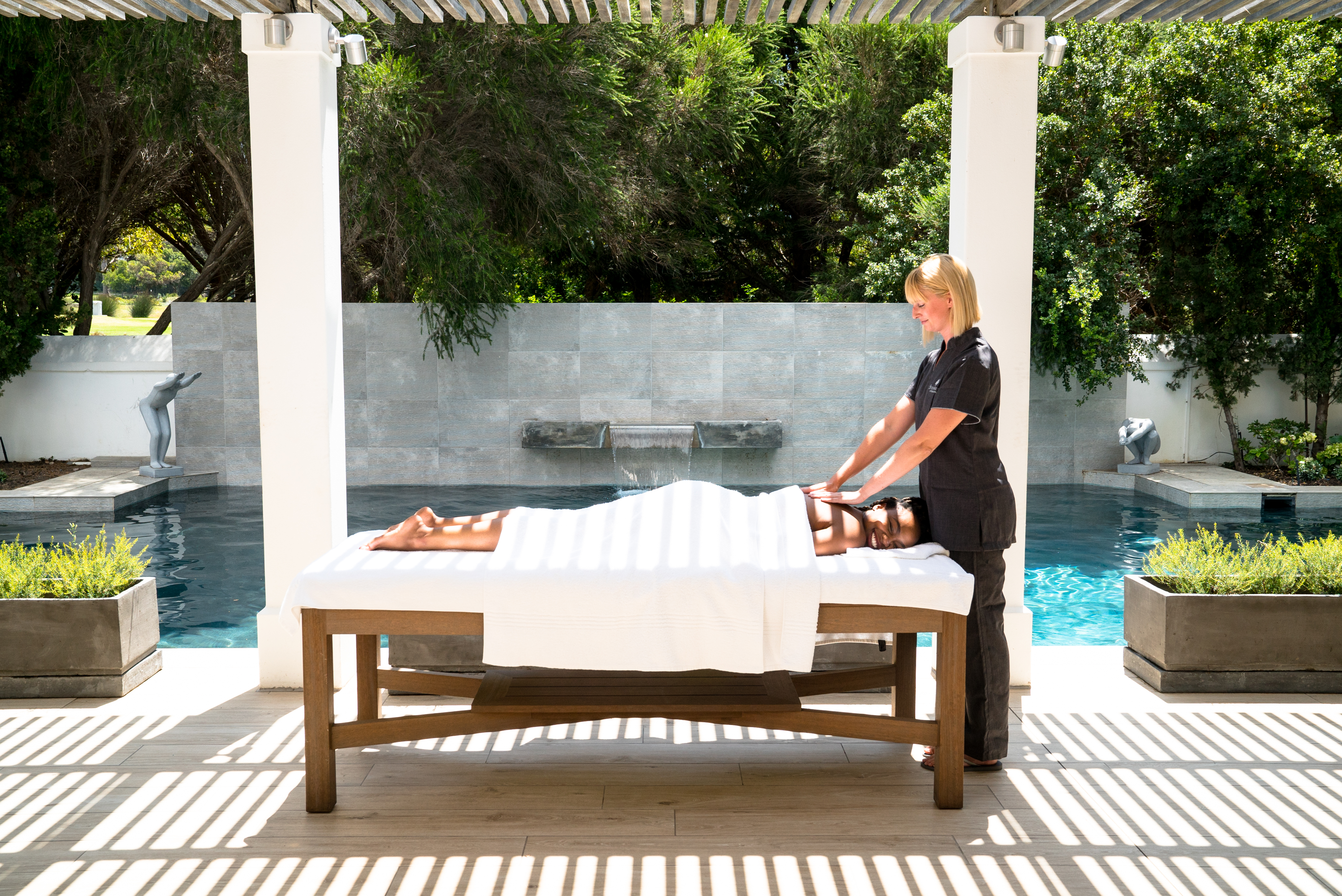 Massages at The Relaxation Area at Steenberg Hotel