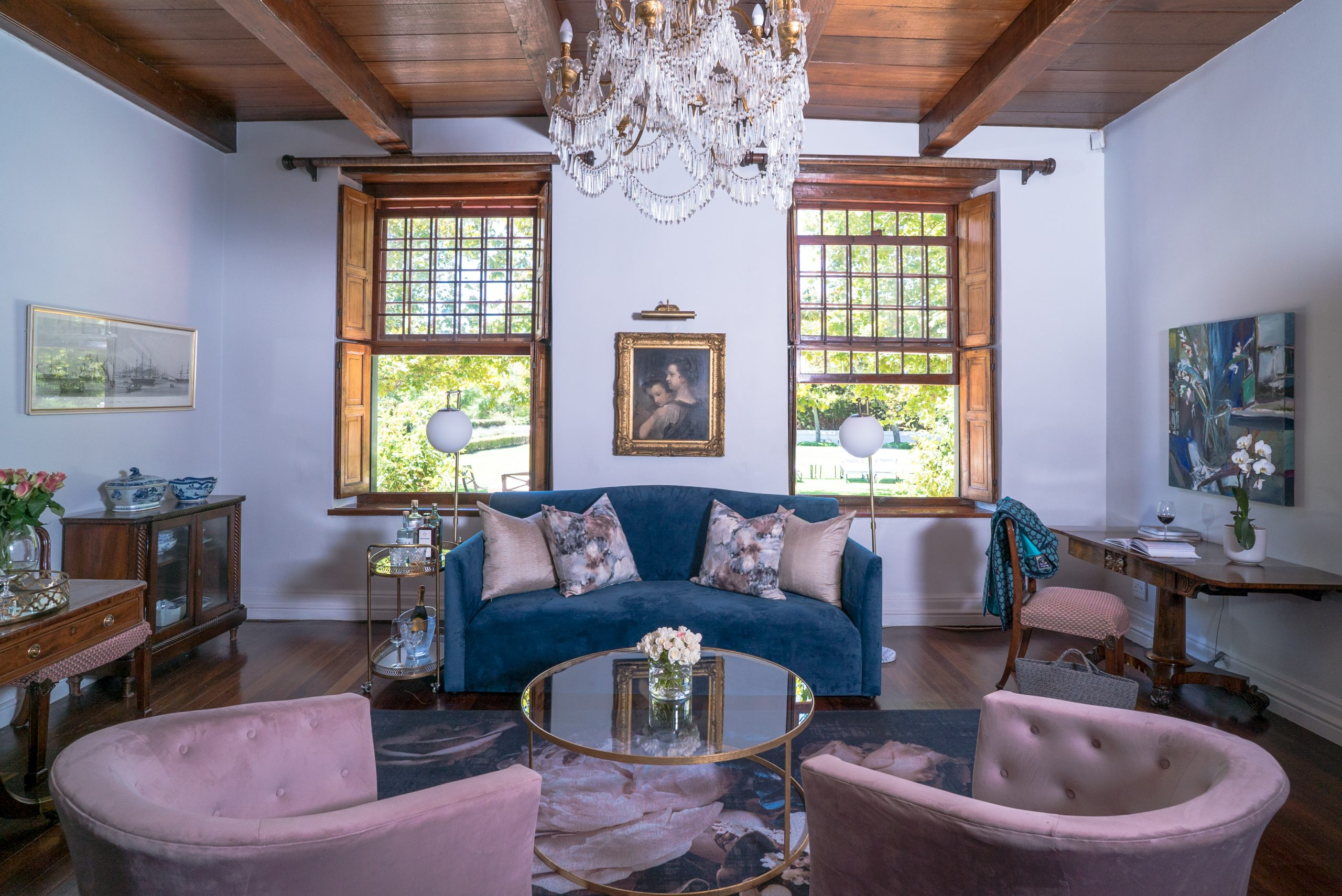 Manor Suite Lounge at Steenberg Hotel & Spa