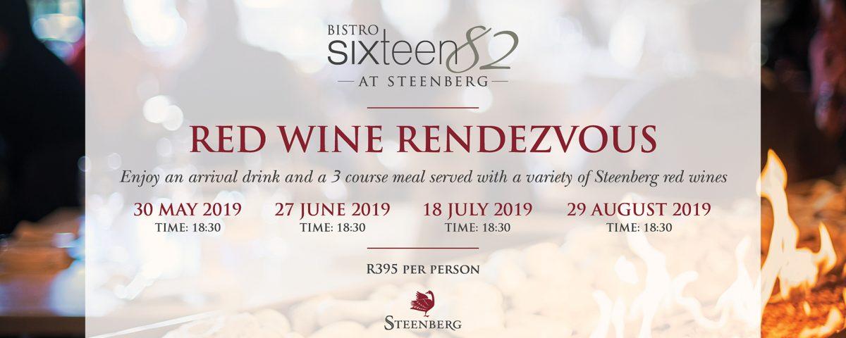Red Wine Rendezvous at Bistro Sixteen82