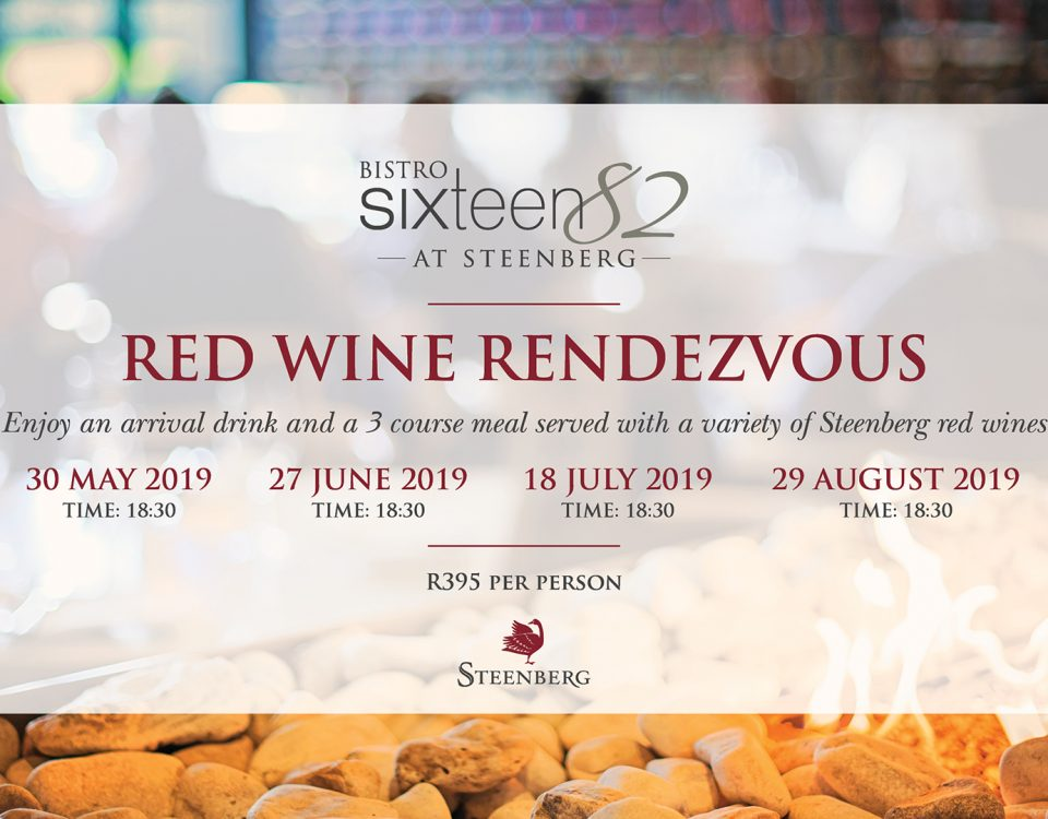 Red Wine Rendezvous at Bistro Sixteen82