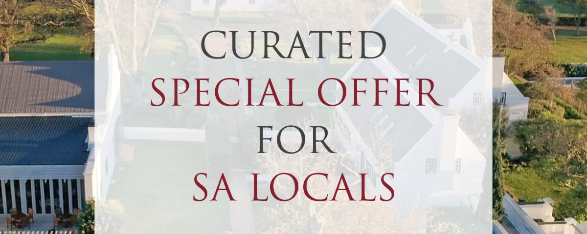 A LUXURY STAY AT STEENBERG HOTEL & SPA WITH A 20% DISCOUNT FOR LOCALS